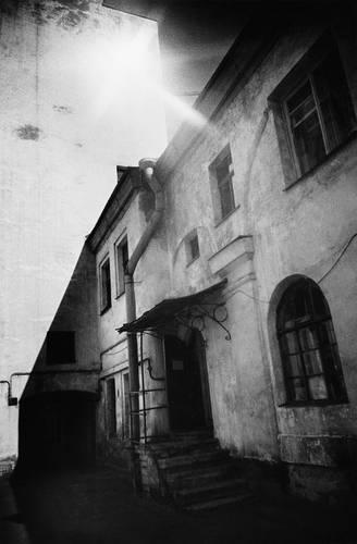 ©Борис Смелов. «Разъезжая улица. 1980»