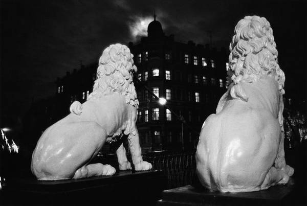 ©Борис Смелов. «Львиный мостик. 1986»
