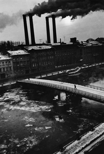 ©Борис Смелов. «Фонтанка зимой. 1987»