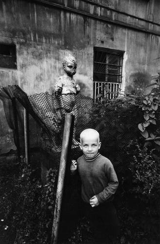 ©Борис Смелов. «Серебряный мальчик. 1995»
