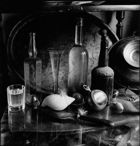 ©Борис Смелов. «Бутылки на стекле. 1980-е»