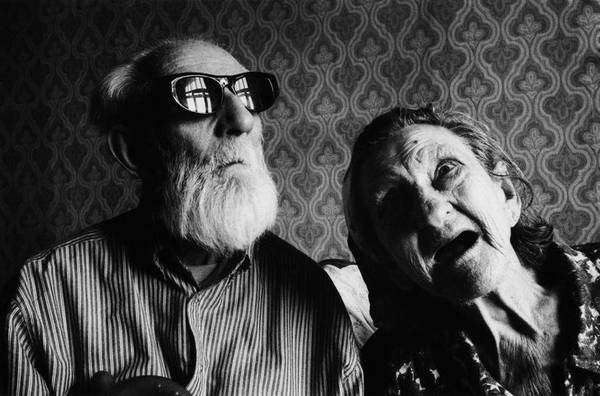 ©Борис Смелов. «Обитатели дома скорби. 1973»