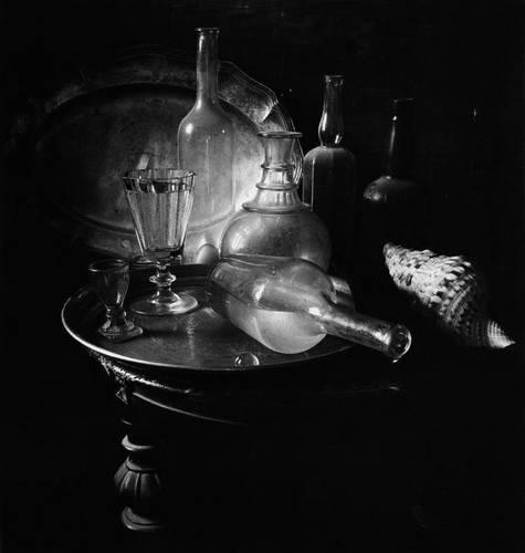 ©Борис Смелов. «Натюрморт с двумя подносами. 1980-е»