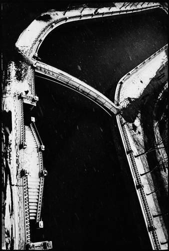 ©Борис Смелов. «Сенной мост зимой. 1990»