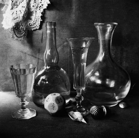 ©Борис Смелов. «Натюрморт с игральной костью. 1976»