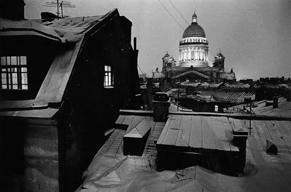 ©Борис Смелов. «Исаакий ночью. 1992»
