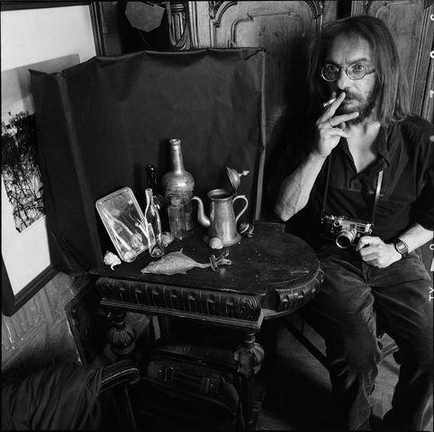 ©Борис Смелов. «Автопортрет с сигаретой. 1993»