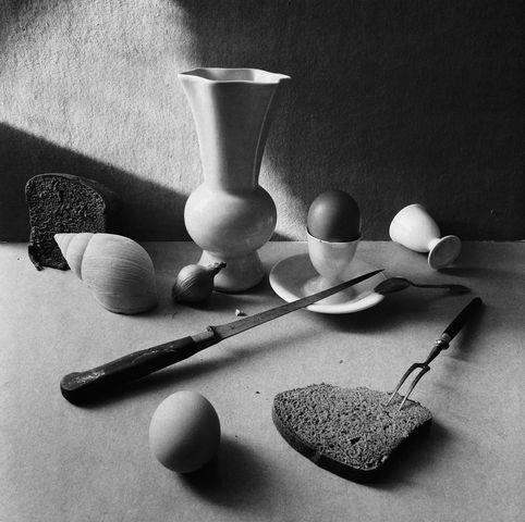 ©Борис Смелов. «Натюрморт с яйцом. 1991»