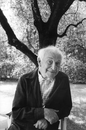 Мартина Франк. Марк Шагал. 1980