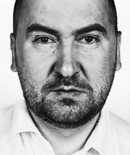 "©Александр Краснов. «Александр Шабуров, художник, группа ""Синие Носы""»"