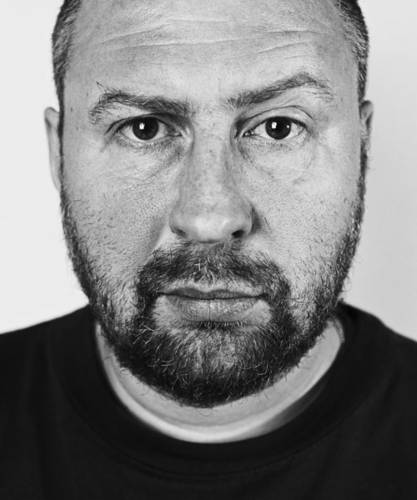 "©Александр Краснов. «Вячеслав Мизин, художник, группа ""Синие Носы""»"