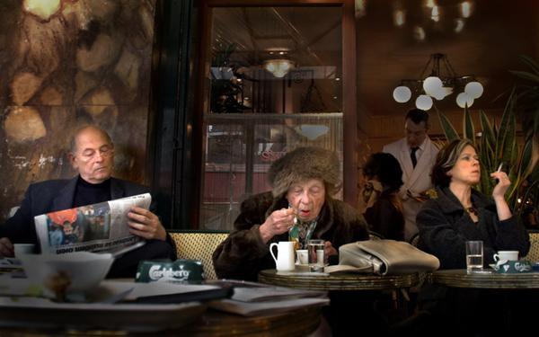 Борис Цветков, «Утренний кофе в Париже»