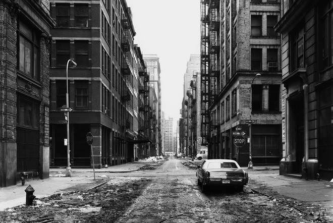 Crosby Street, New York, 1978. Silver Gelatine Print, 66 x 84 cm. Atelier Thomas Struth. © Thomas Struth.