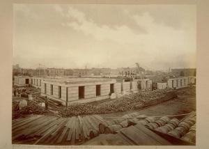 Eadweard Muybridge, Progress of Construction, U.S. Branch Mint, 1870. Collection of California Historical Society