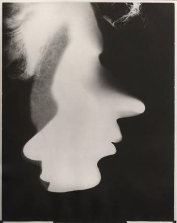 Ласло Мохой-Надь. Автопортрет. Фотограмма. 1926