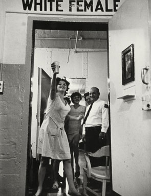Leonard Freed, New Orleans, Louisiana, 1965. Gelatin silver print, 34.8 x 26.1 cm © Leonard Freed / Magnum Photos, Inc. The J. Paul Getty Museum, Los Angeles.
