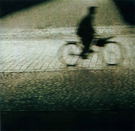 А.Будвитис. Велосипедист