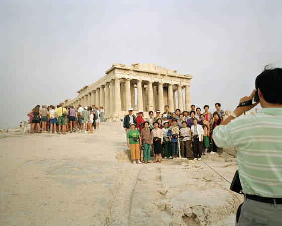 Martin Parr. Greece, Athens, Acropolis. 1991