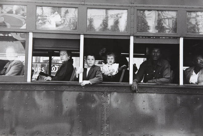 Robert Frank. Trolley—New Orleans, 1955<br /> Image: Courtesy of The Metropolitan Museum of Art