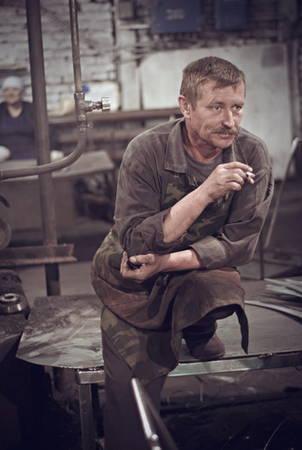 Константин Саломатин. Завод советского периода
