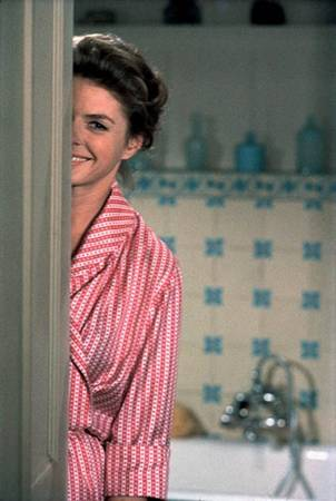 """Ingrid Bergman on the Set of"