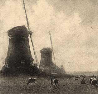 Robert Demachy. Windmills
