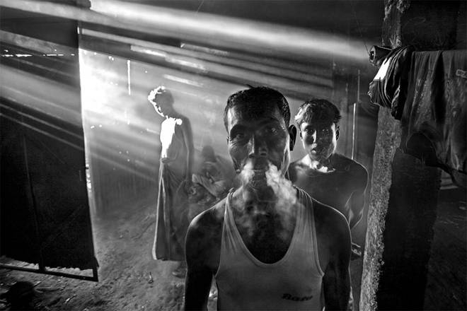 Сайфул Хук Оми, Бангладеш. Из проекта «Жизнь на кладбище кораблей». 2004-2008<br />© Сайфул Хук Оми