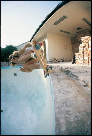 """Glen E. Friedman. Tony Alva (Middle Finger). Trespassing in Beverly Hills, CA (1977). 16x20"""" edition of 20 or 30x40"""" edition of 10"""