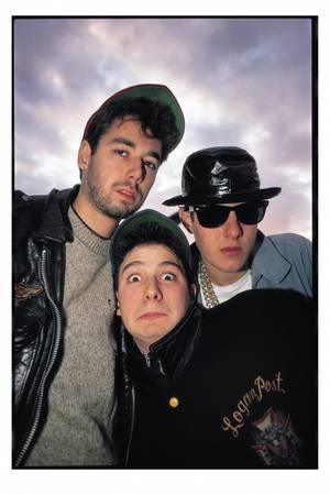 "Glen E. Friedman. Beastie Boys. New York, NY (December 1989). 16x20"" edition of 20 or 30x40"" edition of 10"