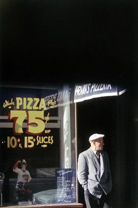 "Сол Лейтер. Пицца ""Патерсон"", 1952 Хромогенная печать 28х35.5 см"