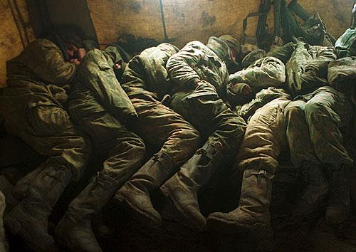 Спящие солдаты