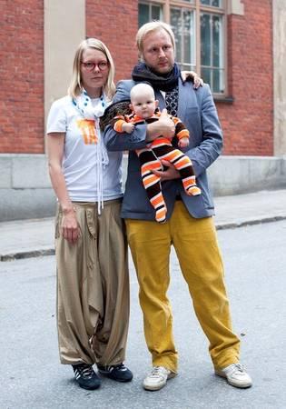 © Лииса Йокинен. Хенна, 32 года; Вилле, 30 лет; Донна, 5 месяцев