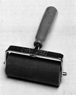 Литографский резиновый валик