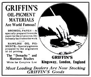 Объявление из журнала The Photo-Miniature, март 1910