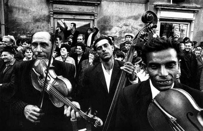 Josef Koudelka. CZECHOSLOVAKIA. Straznice. 1966. Festival of gypsy musicCopyright Josef Koudelka/Magnum Photos