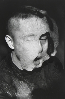 """Rong Rong. East Village, Beijing, No. 81. 1994. Gelatin silver print. 21 3/16 x 13 1/8"""" (53.8 x 33.3 cm). The Museum of Modern Art, New York. Acquired through the generosity of Peter and Susan MacGill. © 2010 Rong Rong"""