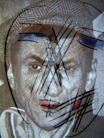 Александр Забрин, Россия<br>  Вспоминая Владимира  Яковлева, 2004, фотография, 40.5х30.5см