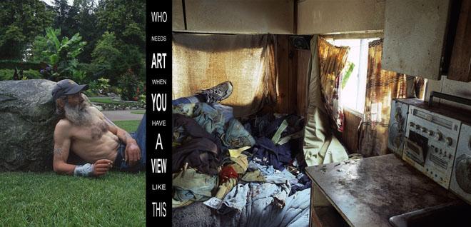 """Давида Кидд, Канада<br>  Из серии """"Кому нужно искусство?"""", 2010, цифровая печать, 40х60см"""