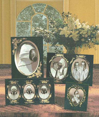 """Дина  ди Риу, США<br>  Из серии """"Семейные портреты"""", 2010, цифровая печать, 40х60см"""
