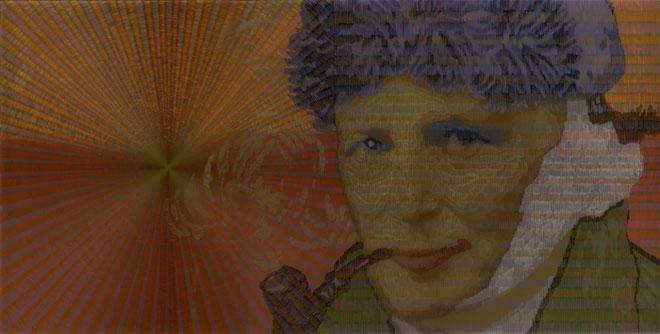 Евгения Горчакова, Германия<br>  Художник, 2010, цифровая печать, 40х60см