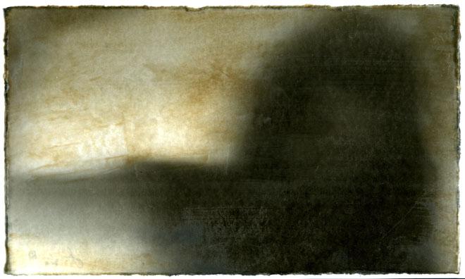 Дженнифер, США<br>  Без названия, цифровая печать и энкаустика, 2010