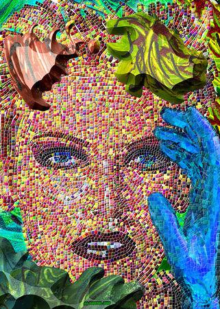 """Лоренс  Гартел, США<br>  Из серии """"Кузины"""", 2010, цифровая печать, 50х40см"""