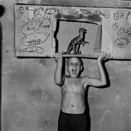 """Роджер  Баллен, Южная Африка / США<br>  """"Рёв """", цифровая печать, 2002, 51х50см"""