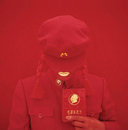 """Кимико Ёшида, Франция / Япония<br> Из серии """"Автопортреты"""". """"Невеста Мао"""", 2009, цифровая печать"""