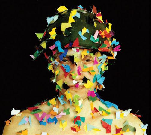 Виктор Лукин, Россия<br> Игры в царя Мидаса (Арт камуфляж), 1996, цифровая печать C-print, 31х41см