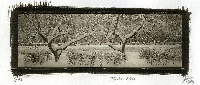 Алексей Белов. Из серии «Последний день года». Платино-палладиевая печать. 2010