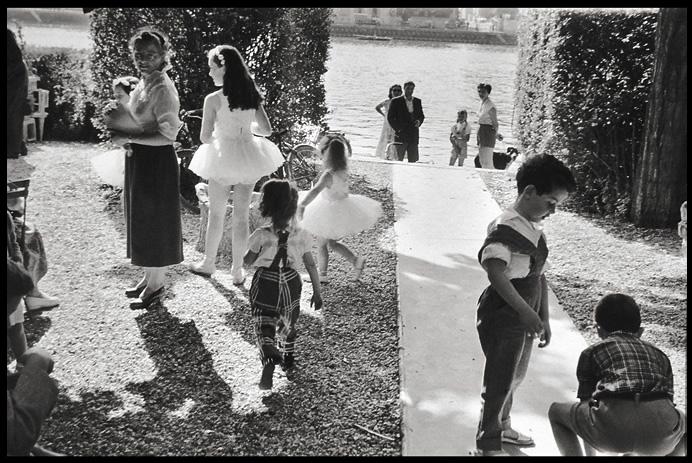 Henri Cartier-Bresson Pres de Juvisy, France, 1955 Gelatin silver print 16x20 inches