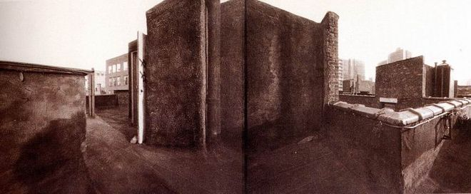 Craig Barber. Thompson&Blecker. Van Dyke print. 1990. 20x50 cm