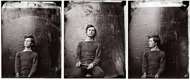 Александр Гарднер. Портрет Льюиса Пейна, приговоренного к смертной казни. 1865<br /> «Он уже мертв и ему предстоит умереть»<br /> <i>Ролан Барт</i>