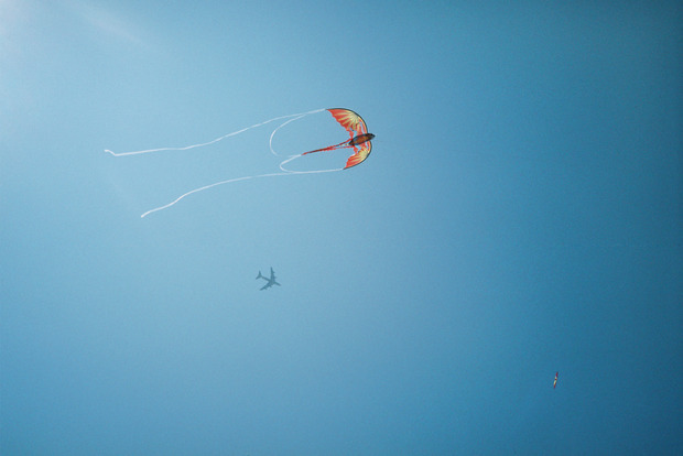 "David Meskhi, ""Dragon Kite and Airplane"", ""When Earth Seems to be Light"" series, 2008"